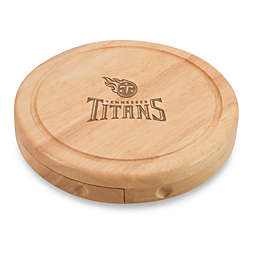 Picnic Time® NFL Tennessee Titans Brie Cheese Board Set