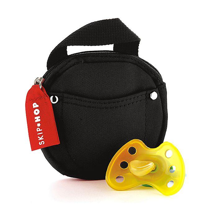 Alternate image 1 for SKIP*HOP® Pacifier Pocket in Black