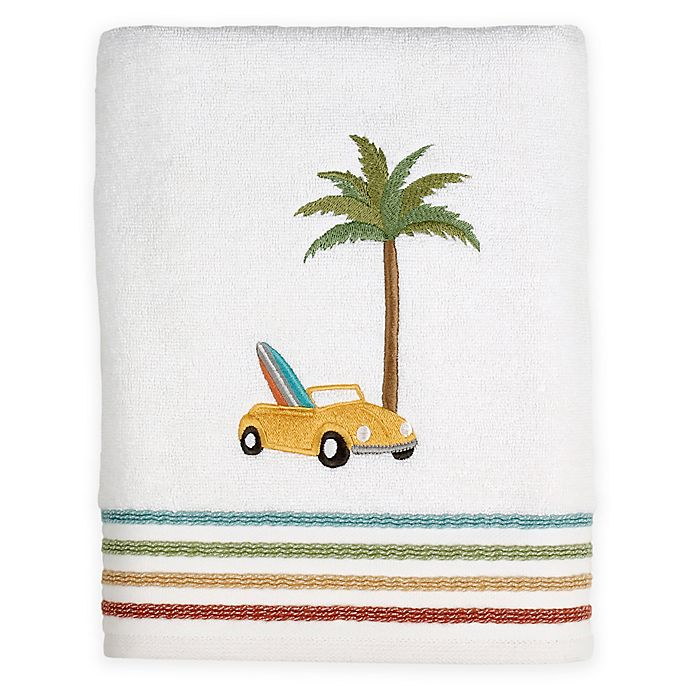 Alternate image 1 for SKL Home By the Surf Bath Towel in White