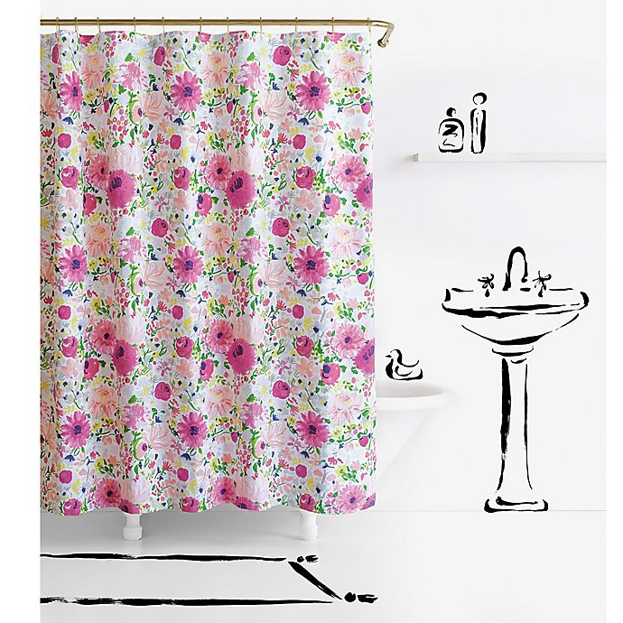 Alternate image 1 for kate spade new york Dahlia Shower Curtain