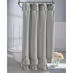 Wamsuttareg Vintage Ruffle Shower Curtain
