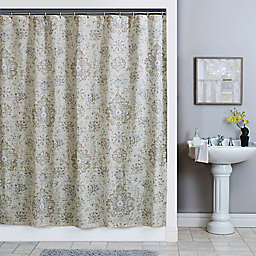 Sariz Shower Curtain in Pearl