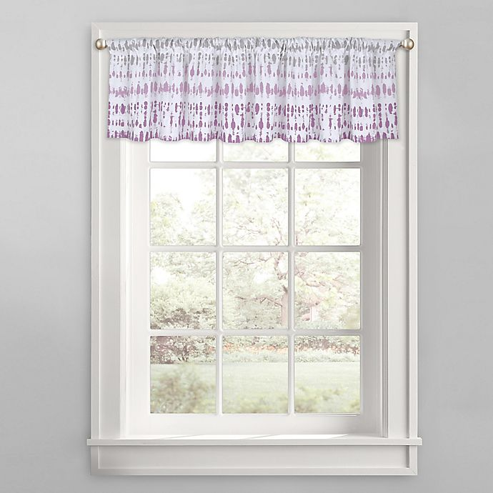 Alternate image 1 for Raindance Window Valance in Purple