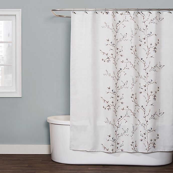 Alternate image 1 for Willows Shower 72-Inch x 84-Inch Curtain in Neutral