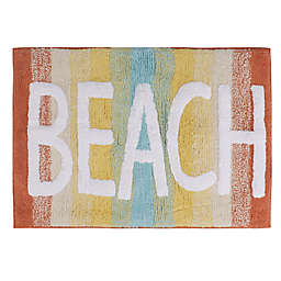 "By the Surf ""Beach"" 20"" x 30"" Bath Mat"