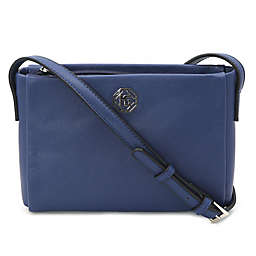 Marina Galanti Saffiano Crossbody Bag in Blue