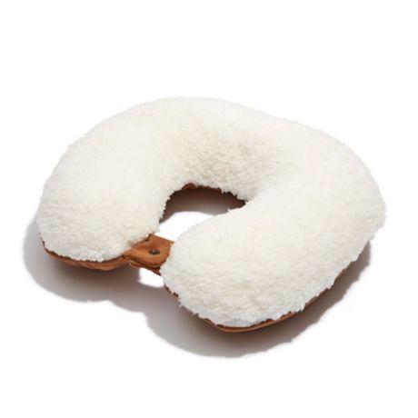 4a4a5ffe673f UGG® Classic Memory Foam Travel Pillow in Sherpa   Suede