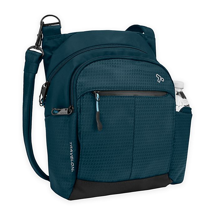 Alternate image 1 for Travelon® Anti-Theft Active Tour Bag in Teal
