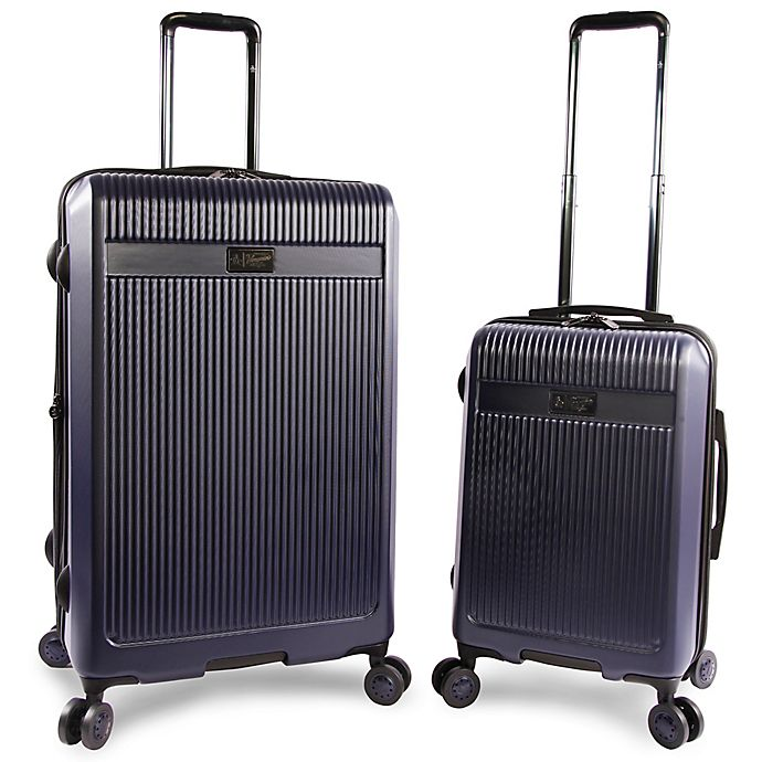 72f7770194b Original Penguin® Hardside 2-Piece Spinner Luggage Set in Navy