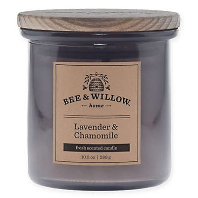 Bee & Willow™ Home Lavender & Chamomile 11 oz. Jar Candle in Purple