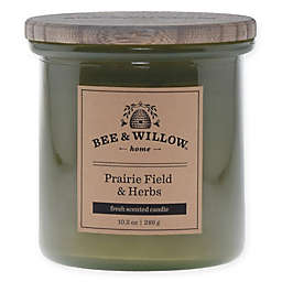 Bee & Willow™ Home Prairie Field & Herb 10.2 oz. Jar Candle in Green