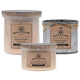 Bee & Willow™ Home Spiced Vanilla & Cream Candle Collection