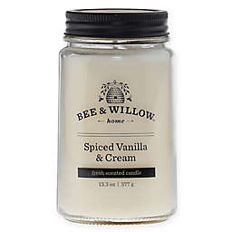 Bee & Willow™ Home Spiced Vanilla & Cream 14 oz. Jar Candle