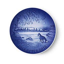 Bing & Grondahl 2018 Christmas Plate