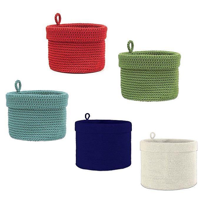 Alternate image 1 for Heritage Lace® Mode Crochet Round Basket