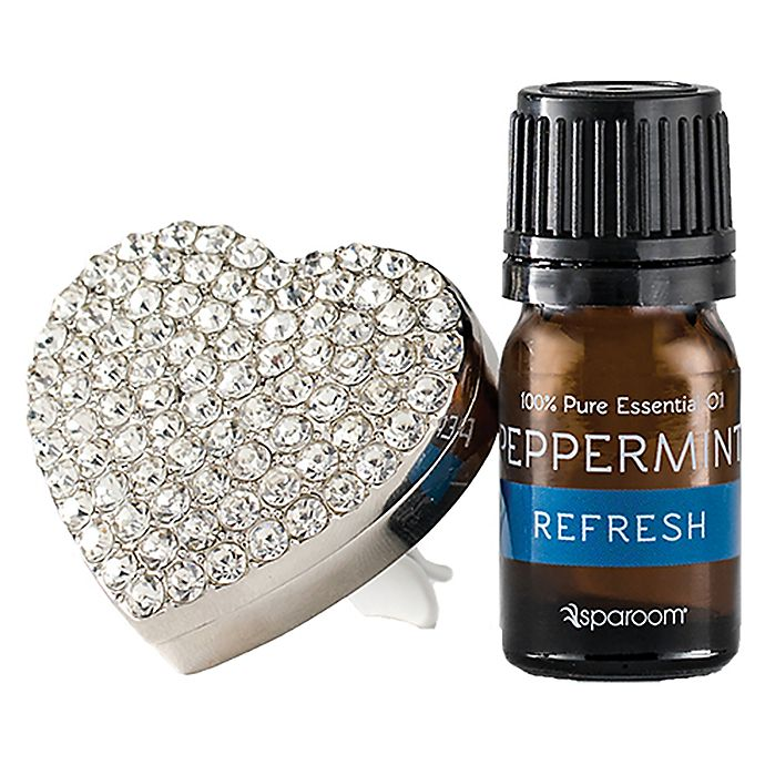 Alternate image 1 for SpaRoom® BlingAir™ Car Vent Essential Oil Diffuser