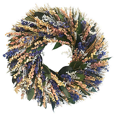 Bee & Willow™ Home 20-Inch Dried Larkspur Wreath