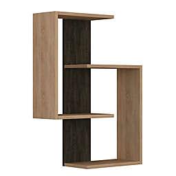 Ada Home Decor Wendy 33-Inch x 25-Inch Modern Wall Shelf