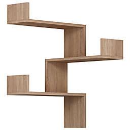 Ada Home Decor Walker 24-Inch Modern Wall Shelf