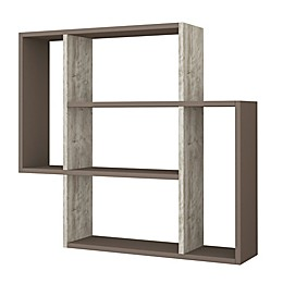Ada Home Decor Blair 34-Inch Modern Wall Shelf