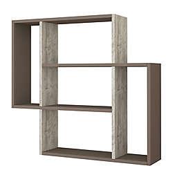 Ada Home Decor Blair 34-Inch Modern Wall Shelf