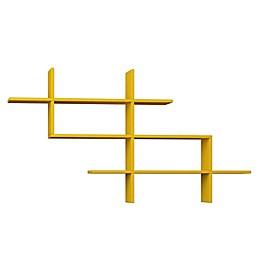 Ada Home Decor Warren 59-Inch Modern Wall Shelf
