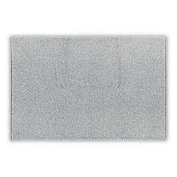 "Casual Avenue Heathered 21"" x 34"" Bath Rug in Light Grey"