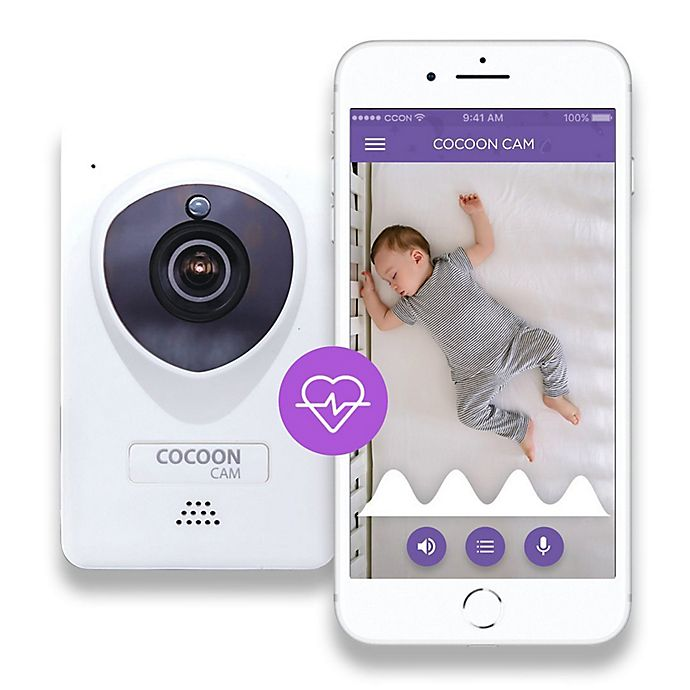 Alternate image 1 for Cocoon Cam Plus Baby Monitor with Breathing Monitoring