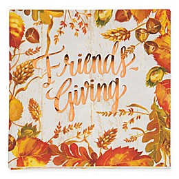 """Creative Converting 48-Pack """"Friends-Giving"""" Napkins"""