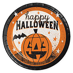 "Creative Converting 24-Piece ""Happy Halloween"" Dessert Plates"