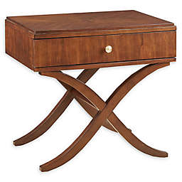 Madison Park Signature Eleanor Nightstand with Walnut Finish
