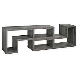 Brassex 70-Inch Multi-Configuration TV Stand in Grey