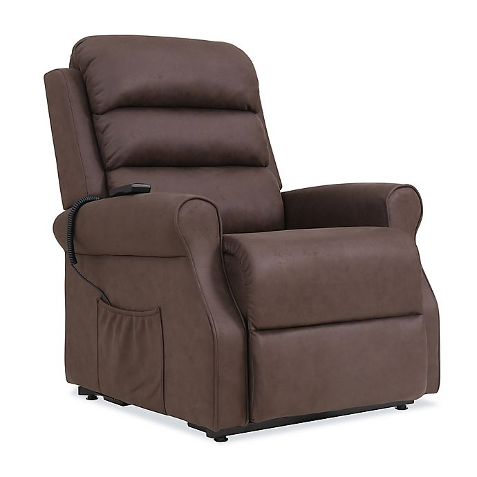 Excellent Prolounger Power Lift Nubuck Recliner Chair Bed Bath Beyond Gmtry Best Dining Table And Chair Ideas Images Gmtryco