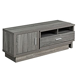 Brassex Inc Expandable TV Stand with Storage