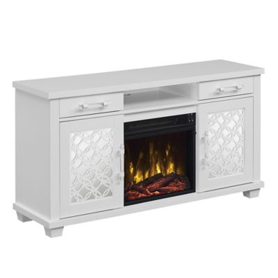 Twin Star Home Tv Stand With Classicflame Electric