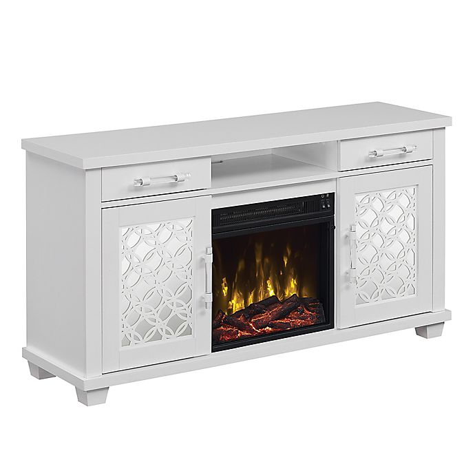 Twin Star Home Tv Stand With Classicflame Electric Fireplace W