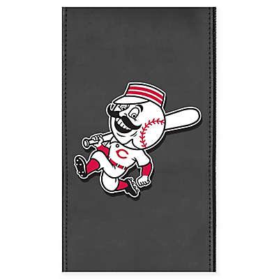 MLB Cincinnati Reds Faux Leather Logo Panel
