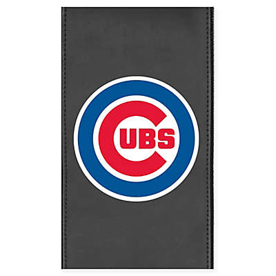 MLB Chicago Cubs Faux Leather Logo Panel