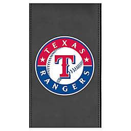 MLB Texas Rangers Faux Leather Logo Panel