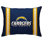 NFL Los Angeles Chargers Plush Standard Bed Pillow