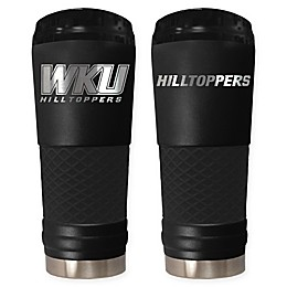 Western Kentucky University 24 oz. Powder Coated Stealth Draft Tumbler