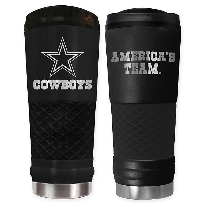 Alternate image 1 for NFL Stealth 24 oz. Powder Coated Stealth Draft Tumbler