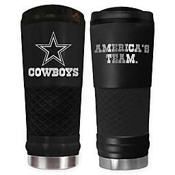b276fc173 Dallas Cowboys 24 oz. Powder Coated Stealth Draft Tumbler