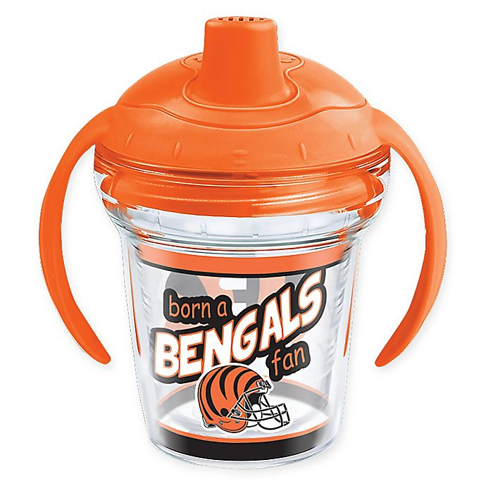 Alternate image 1 for Tervis® NFL Cincinnati Bengals Born a Fan 6 oz. Sippy Cup with Lid