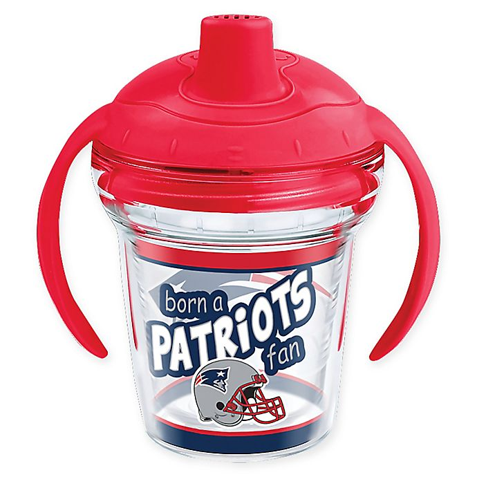 Alternate image 1 for Tervis® NFL New England Patriots Born a Fan 6 oz. Sippy Cup with Lid