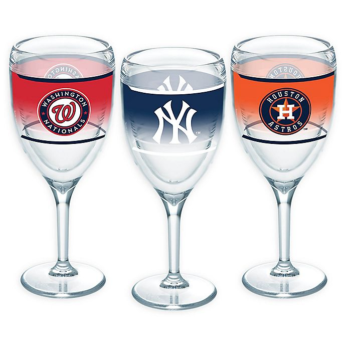 Alternate image 1 for Tervis® MLB Original 9 oz. Wine Glass Collection