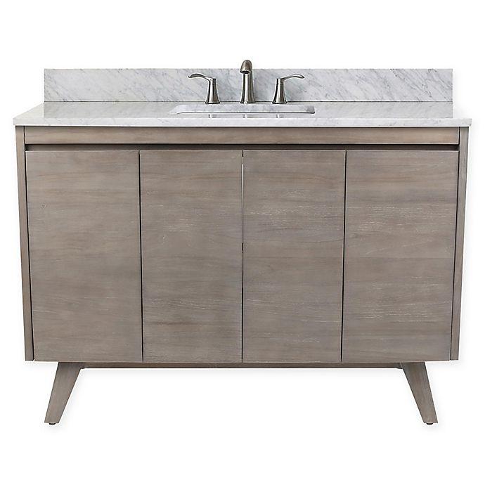Alternate image 1 for Avanity™ Coventry 49-Inch Single Bathroom Vanity in Teak