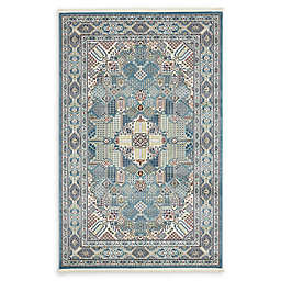 Liverpool Nain Area Rug in Blue