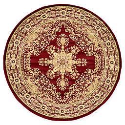 Louis Versailles 5' x 8' Area Rug in Red