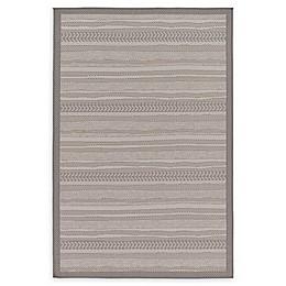 Unique Loom Lines Powerloomed Indoor/Outdoor Rug in Grey